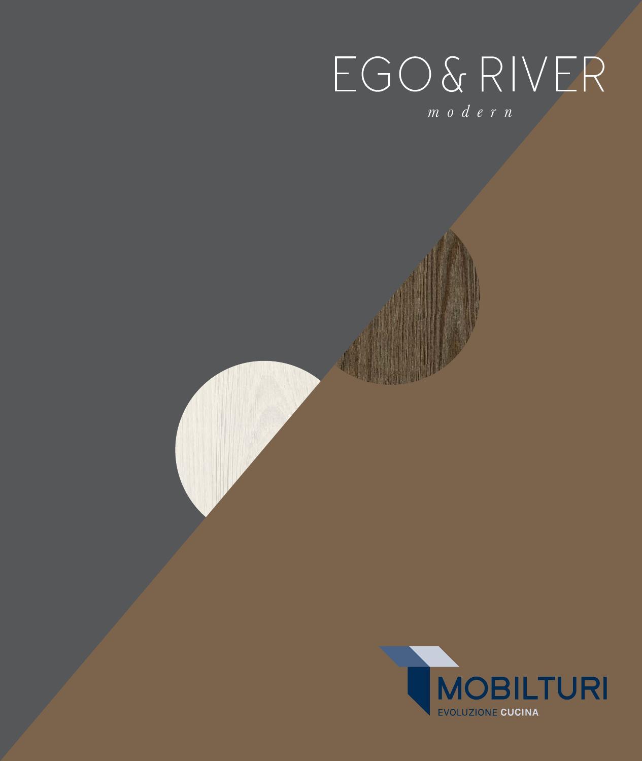 EGO & RIVER cucine moderne / modern kitchens MOBILTURI by Ingenia ...