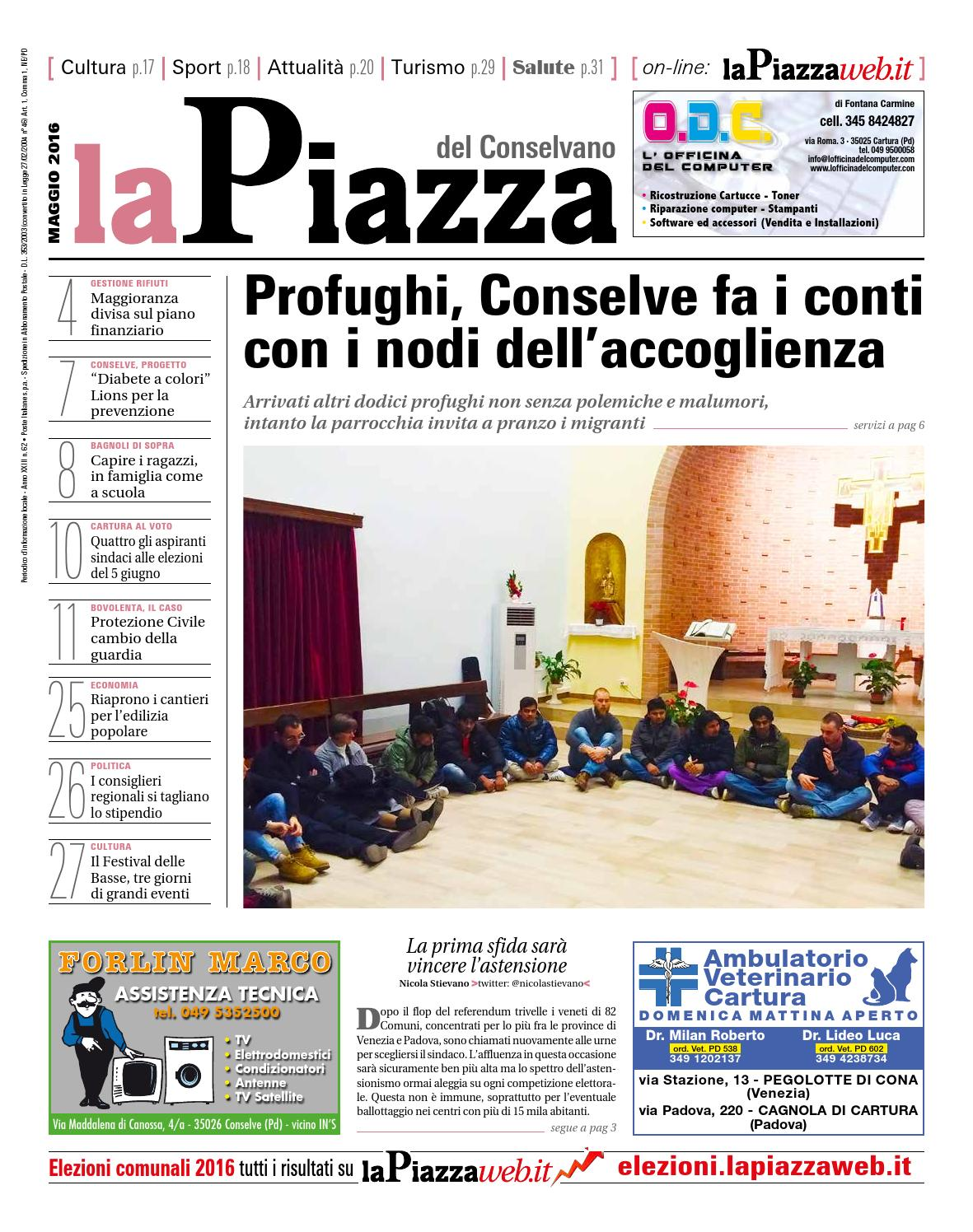 Conselvano Magg2016 N62 By Lapiazza Give Emotions Issuu