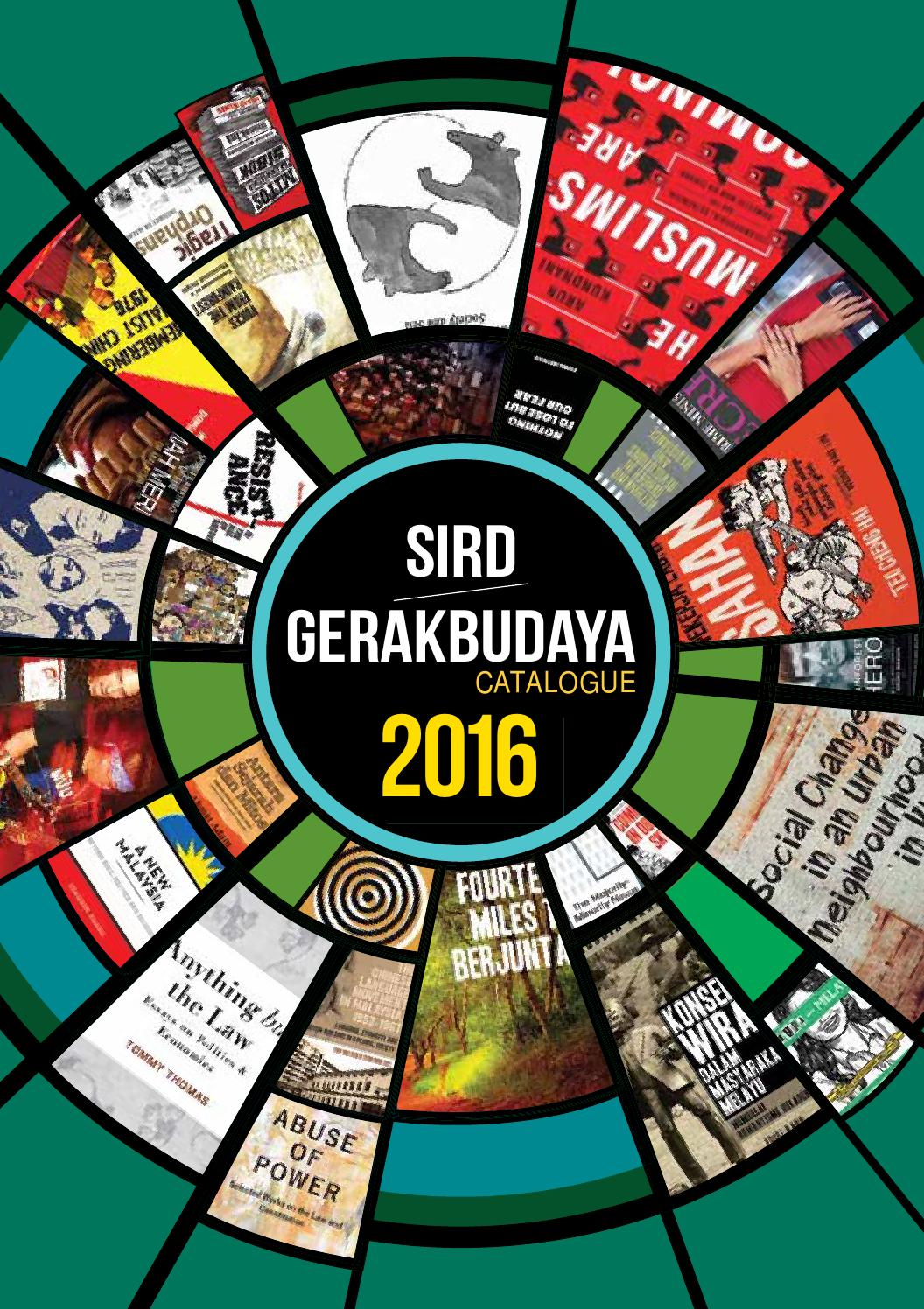 GerakBudaya Catalogue 2016 By GerakBudaya Issuu