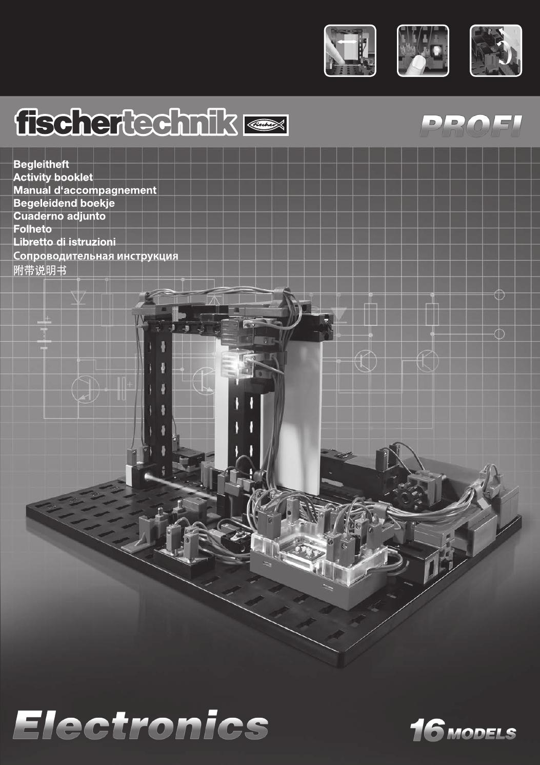 Activity Booklet Of Fischertechnik Electronics By Etc Educational Simple Intercom Circuit Transistor Technology Connection Hk Ltd Issuu