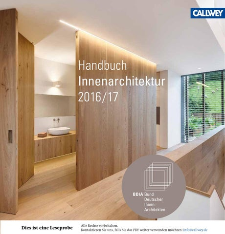Innenarchitektur Vokabular 01 2017 by bl verlag ag issuu