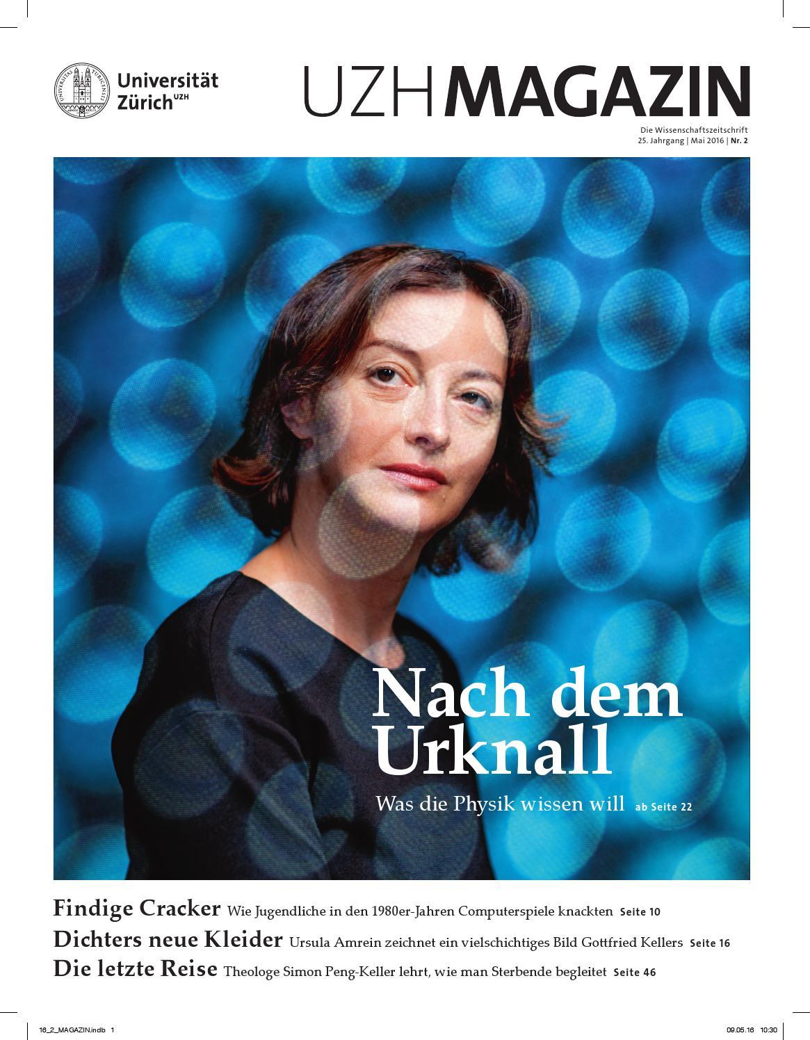 UZH Magazin 2/16 by University of Zurich - issuu