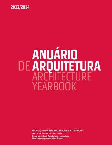 Anurio de arquitetura 20132014 by iscte iul issuu page 1 fandeluxe Choice Image