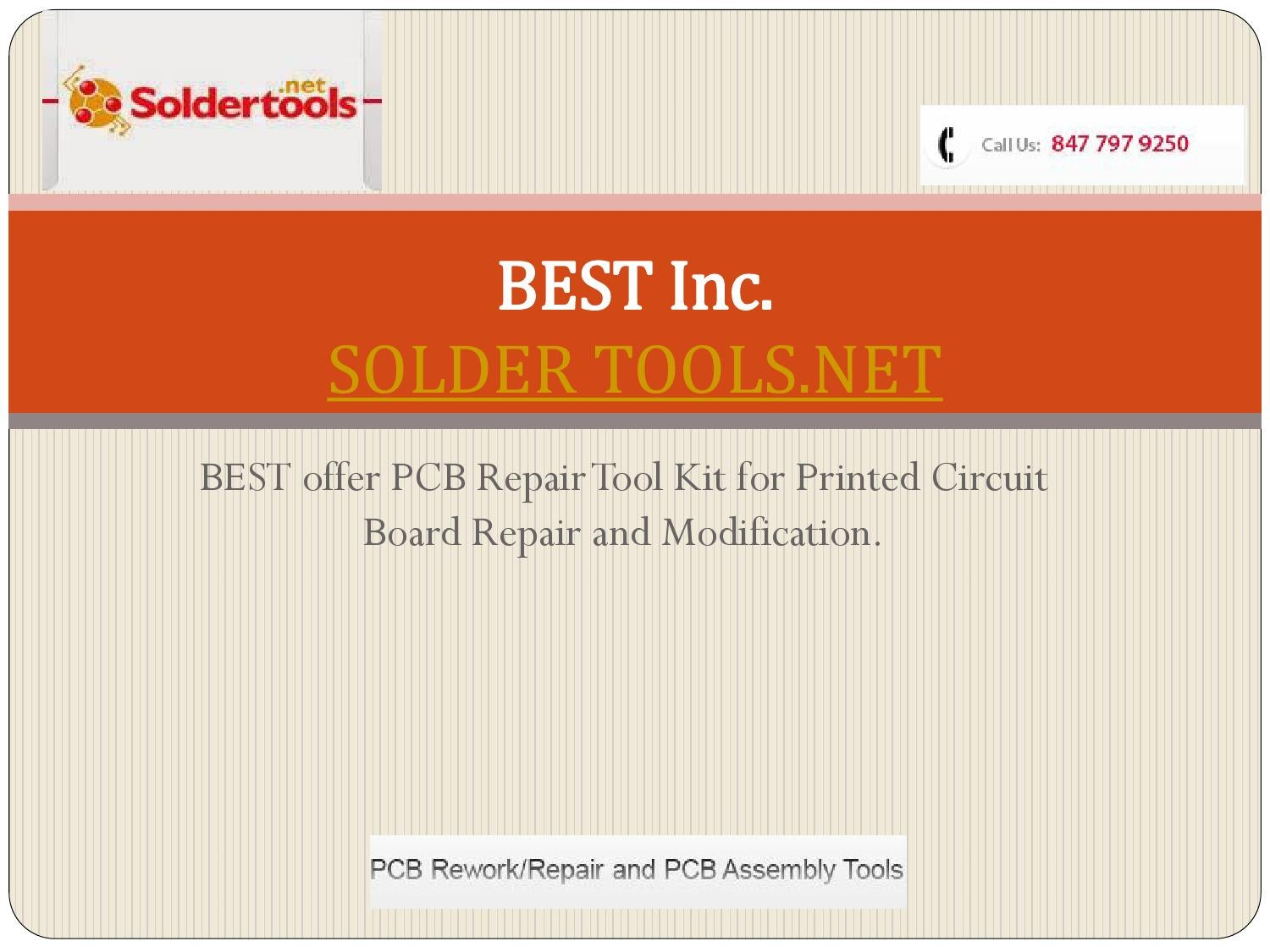 Best Inc | PCB Repair Tool Kits by BEST Inc - issuu