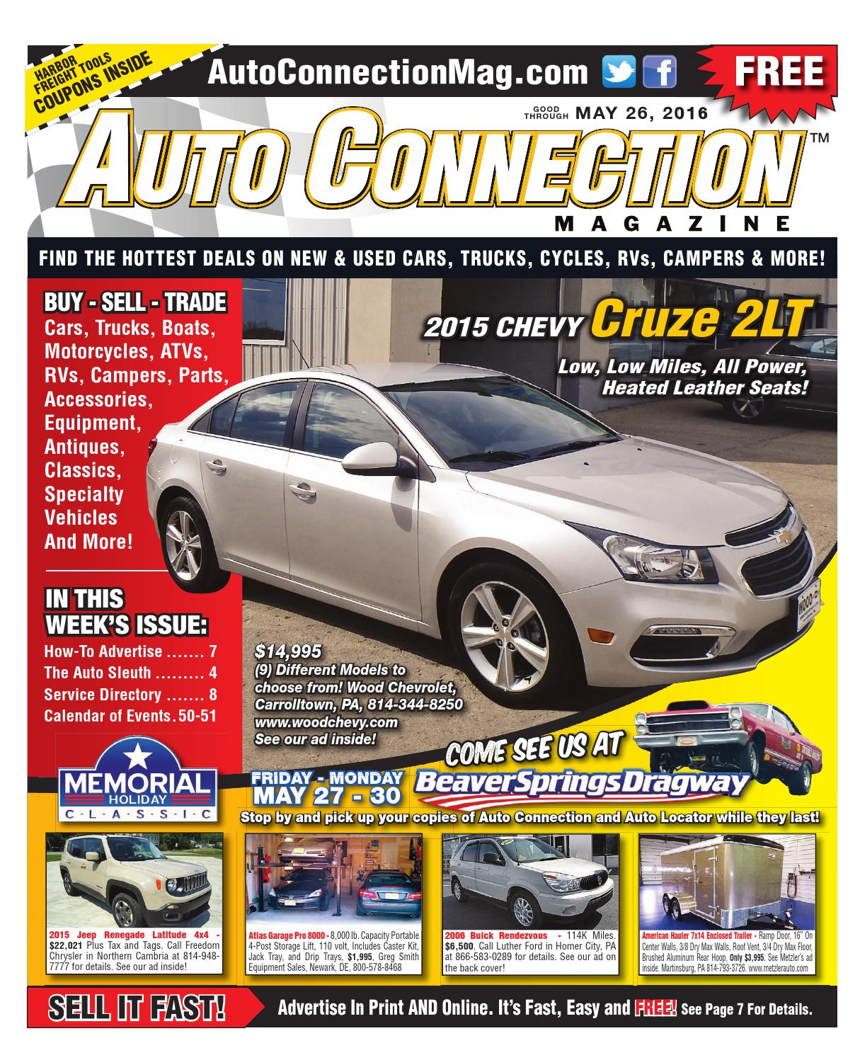 05 26 16 Auto Connection Magazine By Auto Connection Magazine Issuu