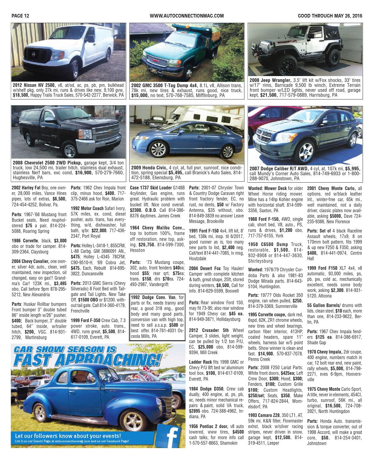 05-26-16 Auto Connection Magazine by Auto Connection Magazine - issuu