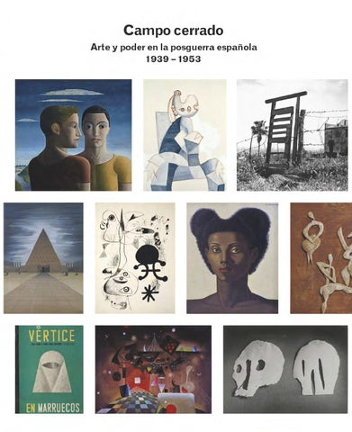 Catálogo de la exposición Campo Cerrado. Arte y poder en la ...