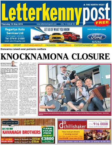 Letterkenny post 19 05 16 by River Media Newspapers - issuu