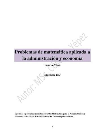 234787916 ejercicios de matematica aplicada a la administracion y ...