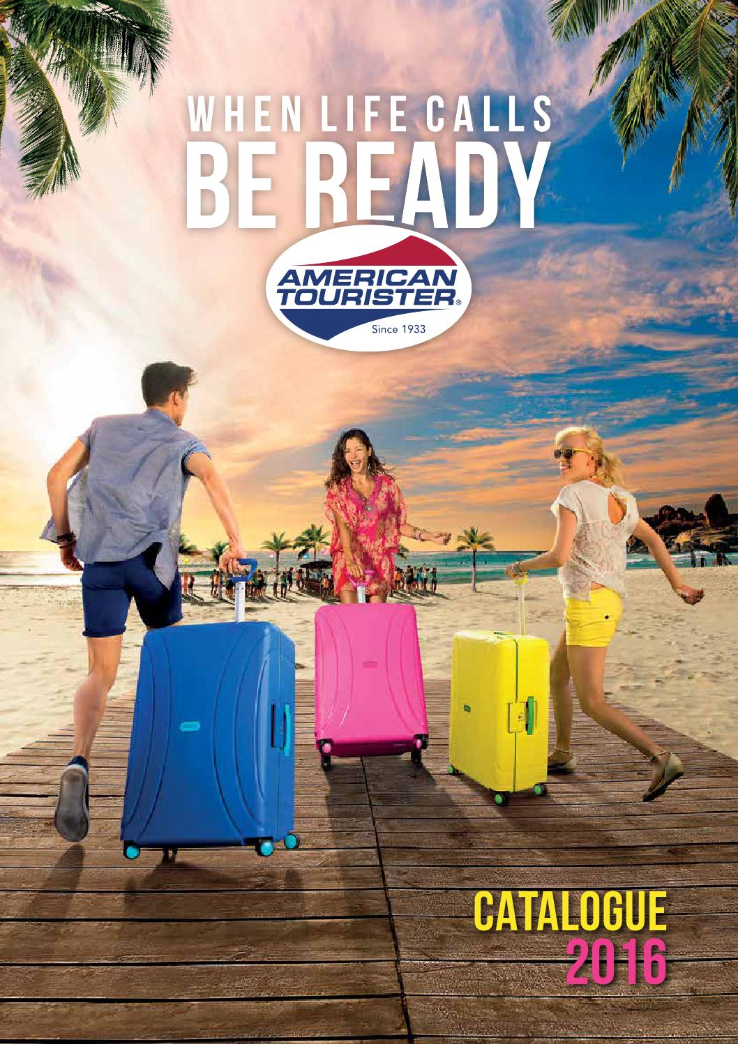 Cat 225 Logo American Tourister 2016 By American Tourister