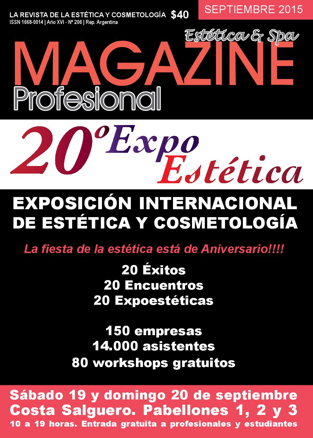 206 septiembre 2015 by Revista Magazine Profesional - issuu