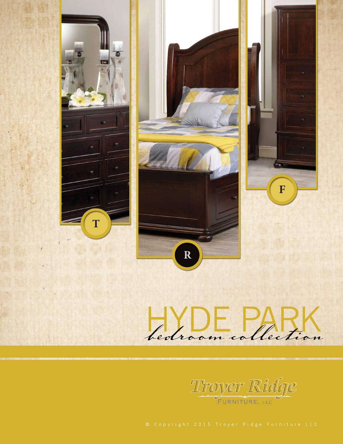 Troyer Ridge Furniture Hyde Park Collection By Online PDFs   Issuu
