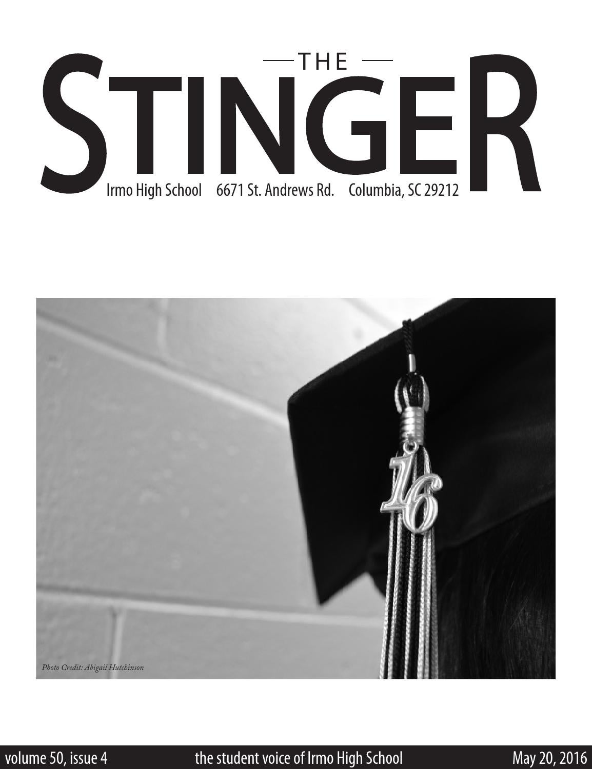 May 2016 Stinger by The Stinger - issuu