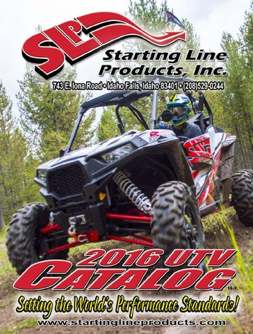Spring 2016 SLP UTV Catalog by Starting Line Products - issuu
