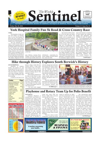 WS May 20 2016 By Weekly Sentinel