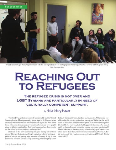 Page 116 of Reaching out to Refugees