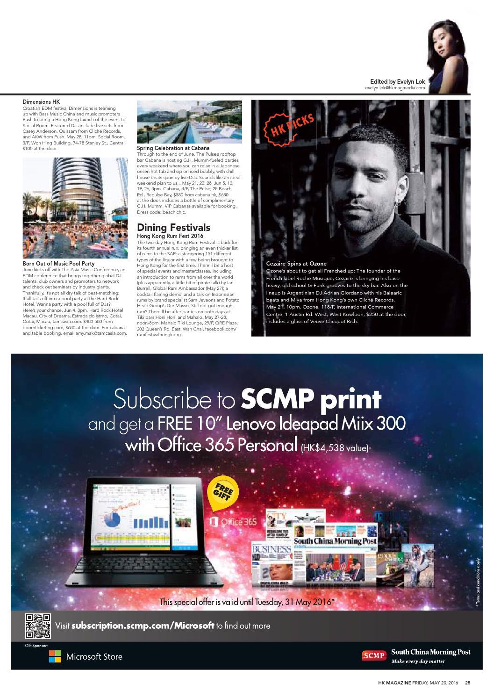 HK Magazine #1146, May 20 2016 by HK Magazine - issuu