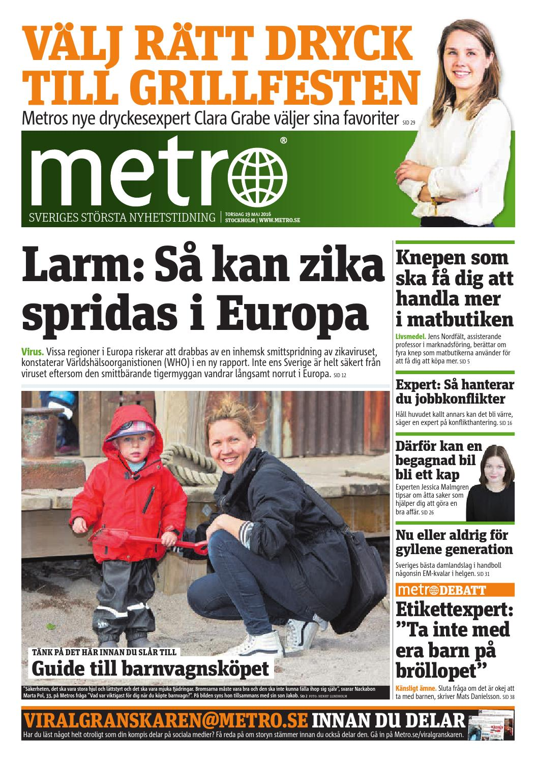 20160519 se stockholm by Metro Sweden - issuu 49eac5a30f1b7