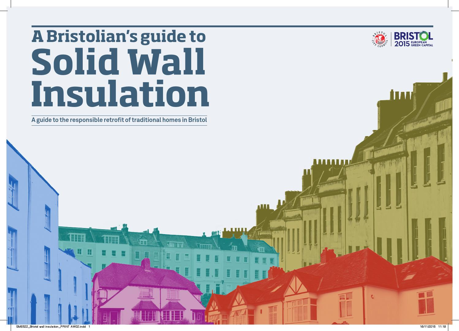 A bristolians guide to solid wall insulation by bristol city a bristolians guide to solid wall insulation by bristol city council issuu solutioingenieria Image collections