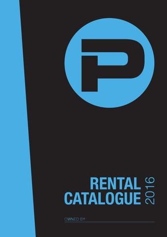 Stehle Zum Dimmen phlippo rental catalogue by ideeweb issuu