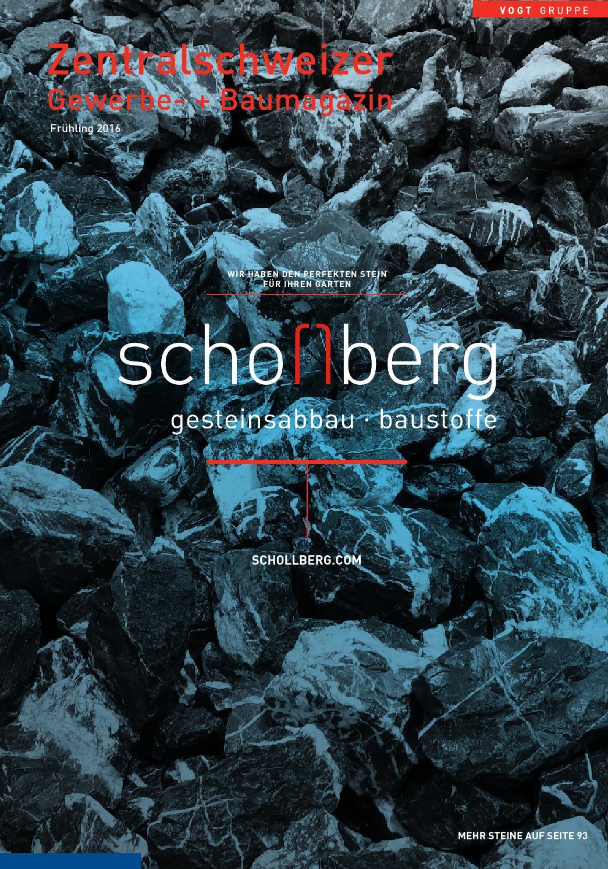 Zentralschweizer Gewerbe + Baumagazin Frühling 2016 by new time ...