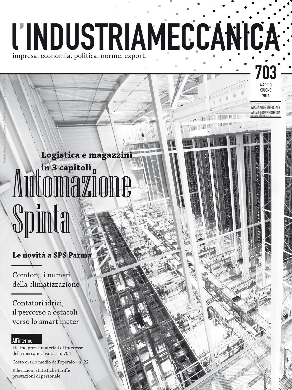 Aerotermi Ad Acqua.L Industria Meccanica 703 Maggio Giugno 2016 By