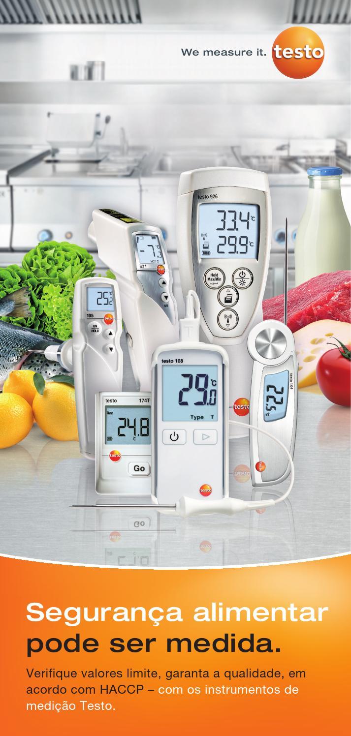 Testo Temperatura Instrumento De Medici/ón 831 0560 8316