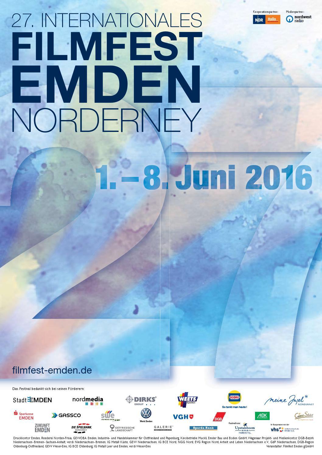 Katalog Internationales Filmfest Emden-Norderney 2016 by ...
