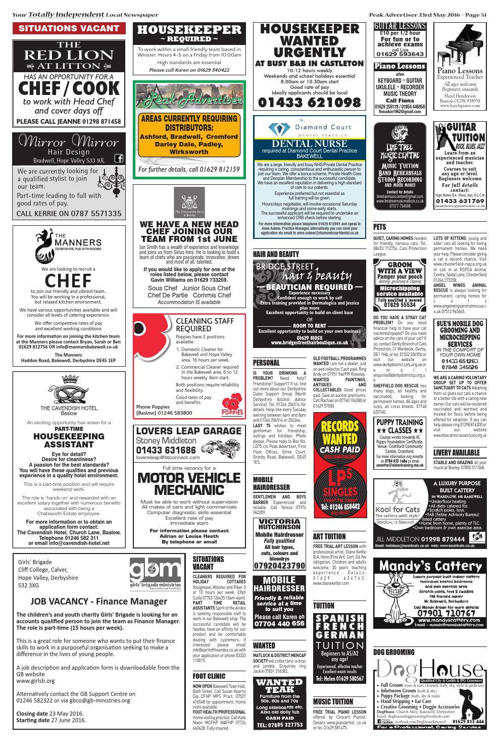 The Peak Advertiser 23 5 16 by Peak Advertiser - issuu