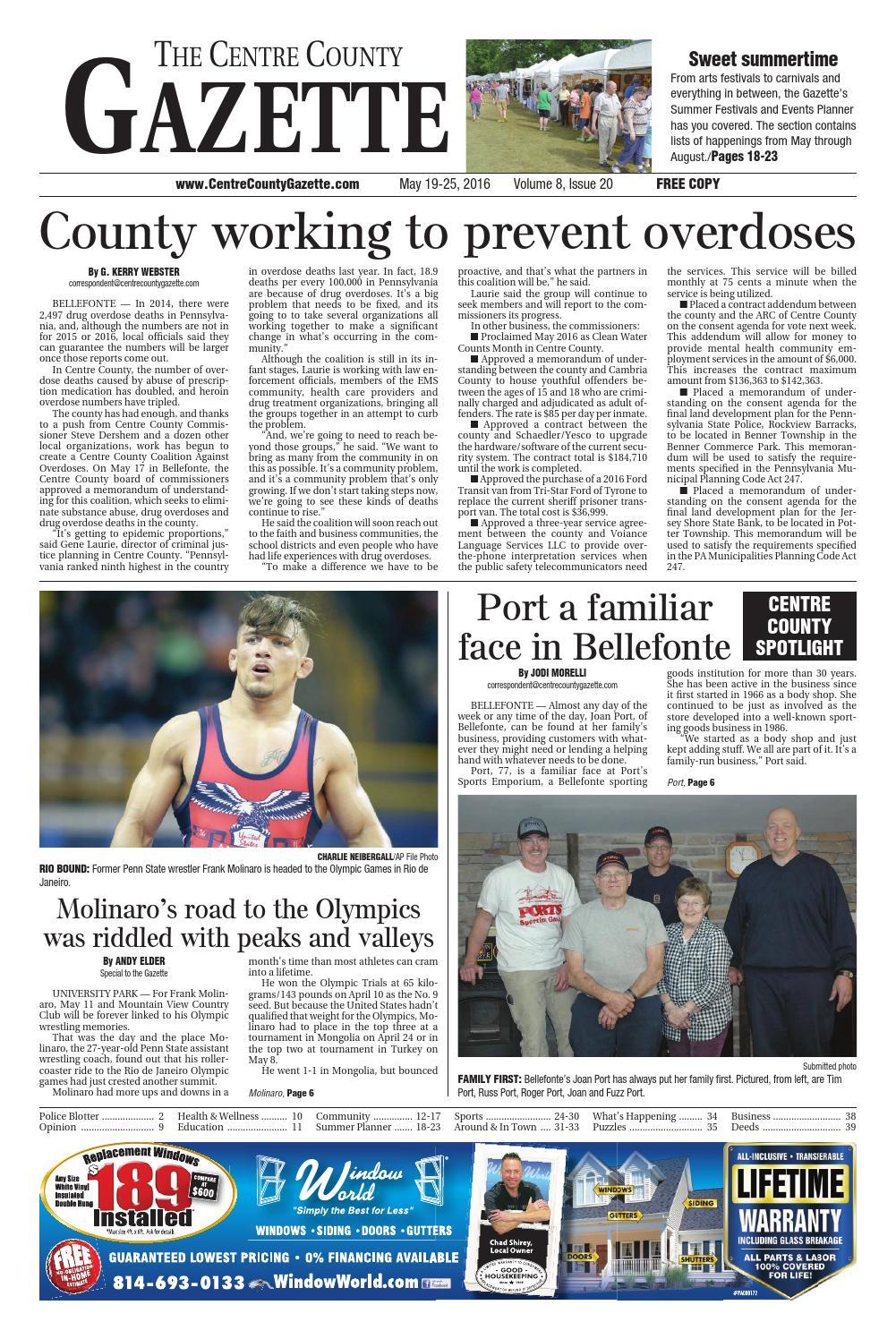 495a8cc7f Centre County Gazette