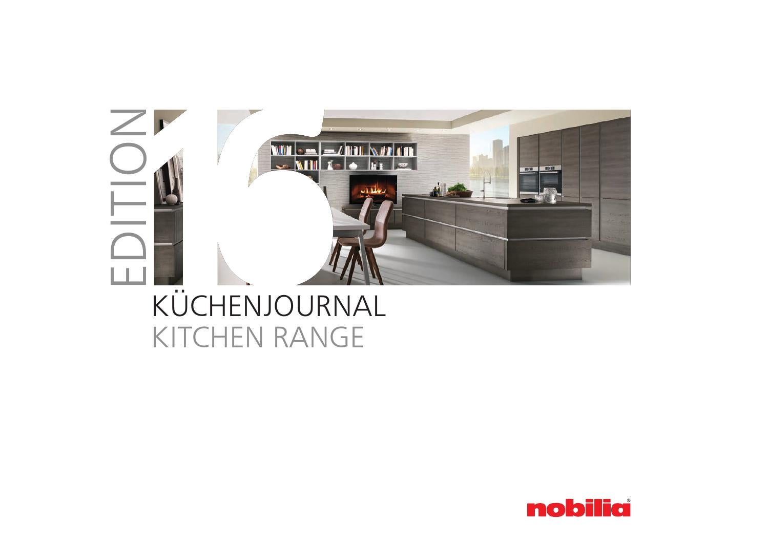 Küchenjournal Kitchen Range ~ nobiliajournal 2016 by inova kitchens issuu