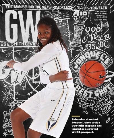 471a33de1 Bahamian standout Jonquel Jones took a 900-mile leap and has landed as a  coveted WNBA prospect.