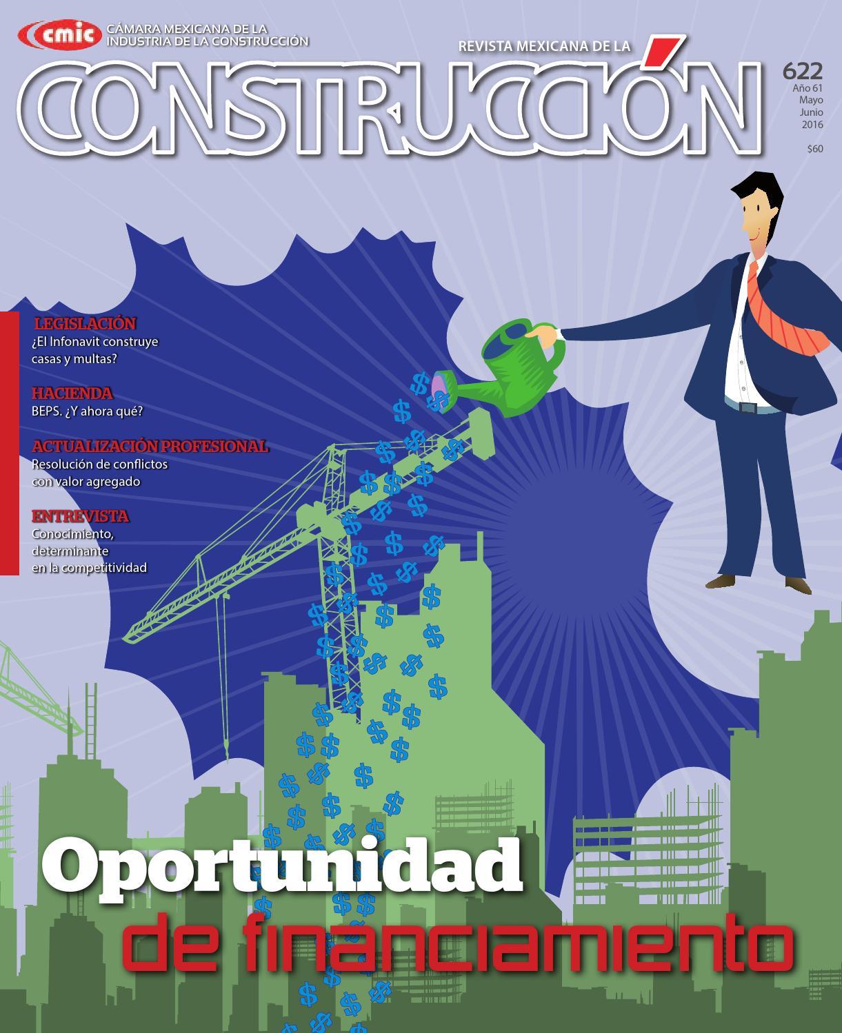 Revista Mexicana de la Construcción RMC 622 Mayo-Junio 2016 by ...