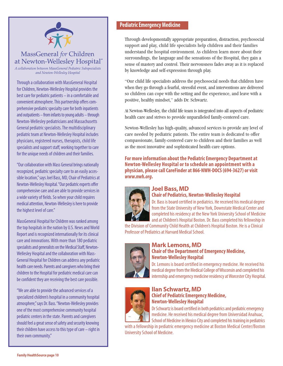 NWH HealthSource: Summer 2016 by newtonwellesleyhospital - issuu