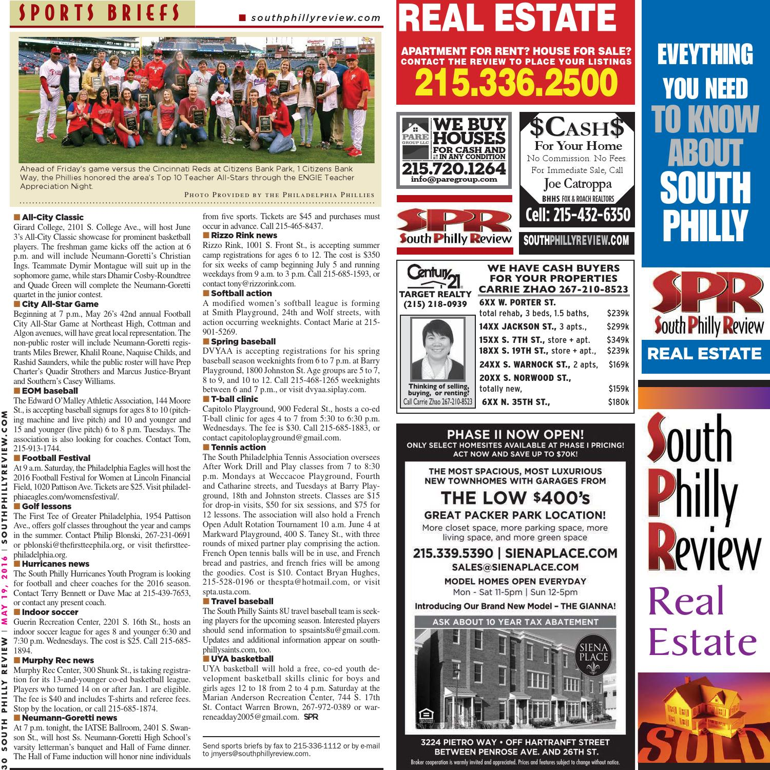 South Philly Review 5-19-2016 by South Philly Review - issuu