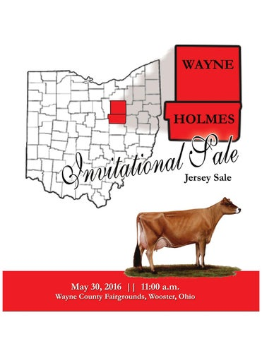 Wayne-Holmes Invitational Sale by AJCA/NAJ/JMS - issuu