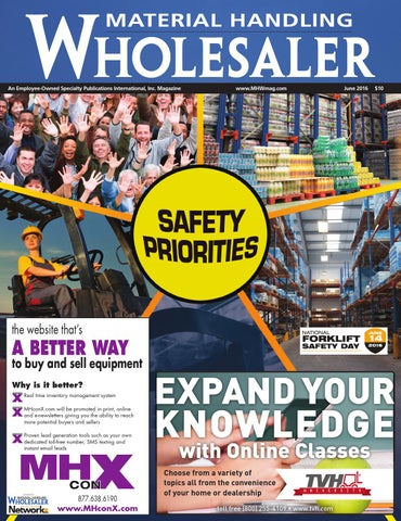 Material handling wholesaler june 2016 by material handling page 1 fandeluxe Choice Image