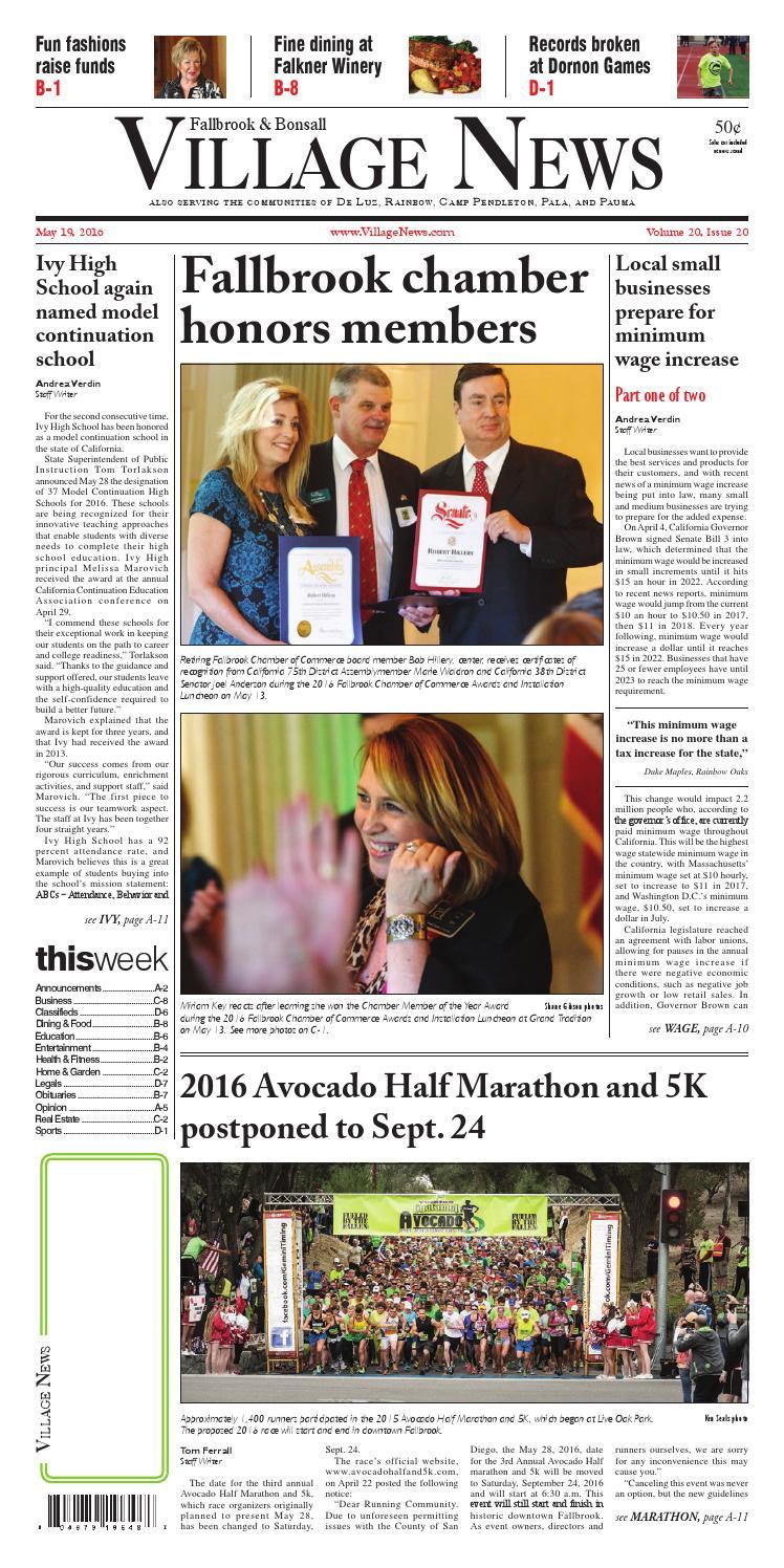 b1f4ce8f928c Fallbrook Village News by Village News