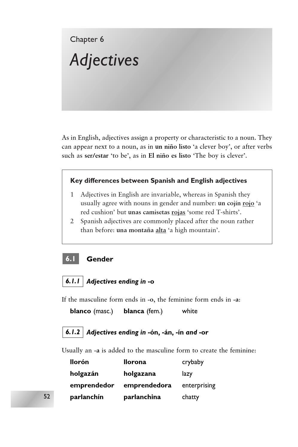 49 Spanish An Essential Grammar By Ambrosio Issuu