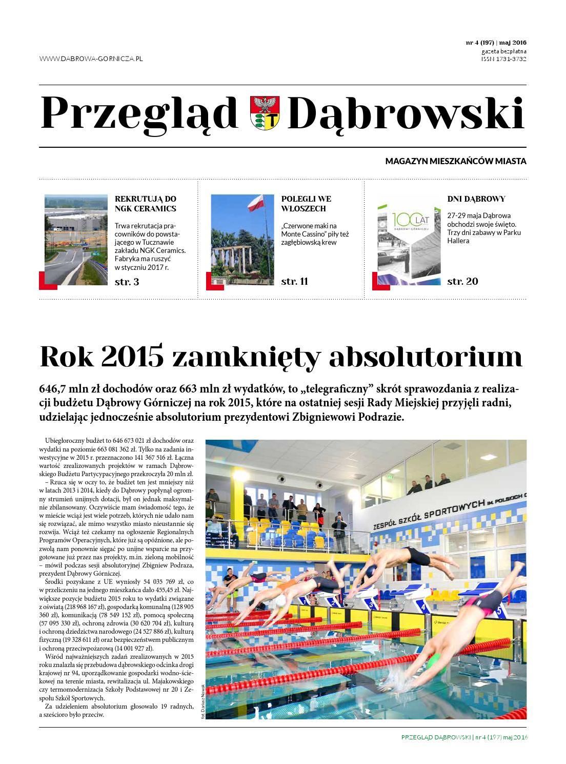 Przegląd Dąbrowski Maj 2016 By Przegląd Dąbrowski Issuu
