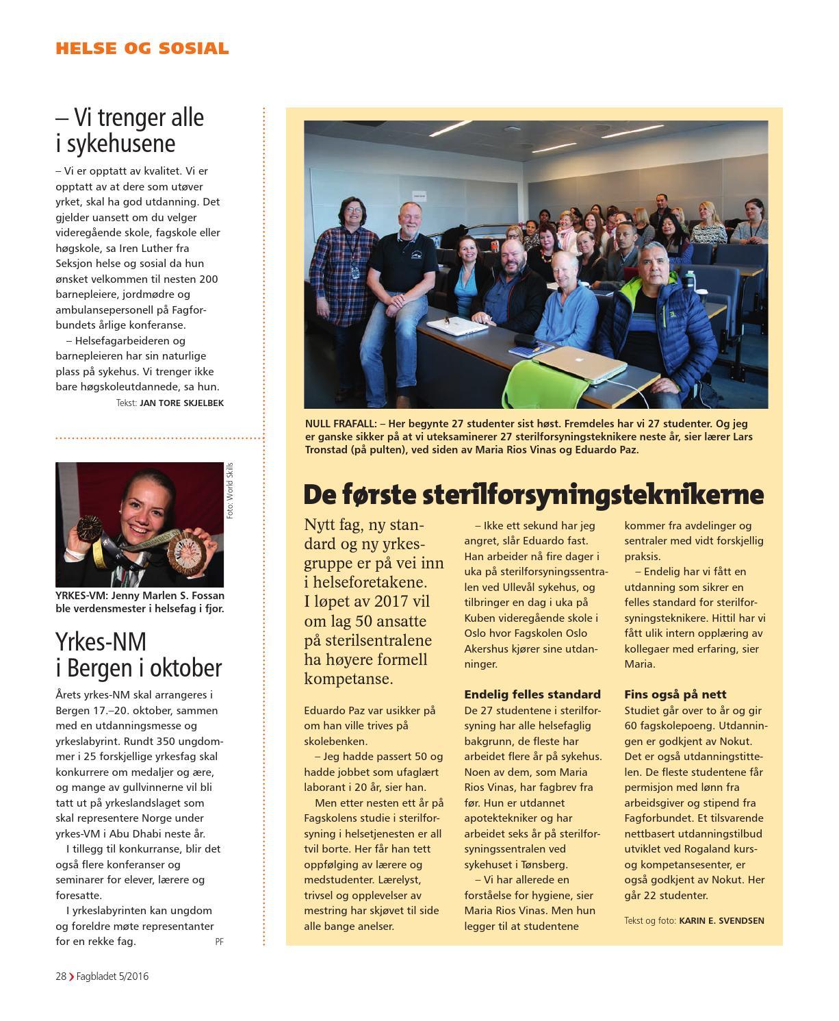 1f5ba342a Fagbladet 2016 05 - HEL by Fagbladet - issuu