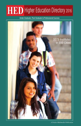 HED-Higher Education Directory 2016 by Perfect Multimedia - issuu