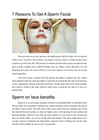 Benefits Of Getting A Facial