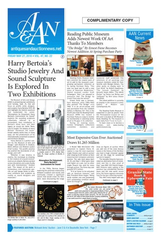 Antiques Auction News 052716 By