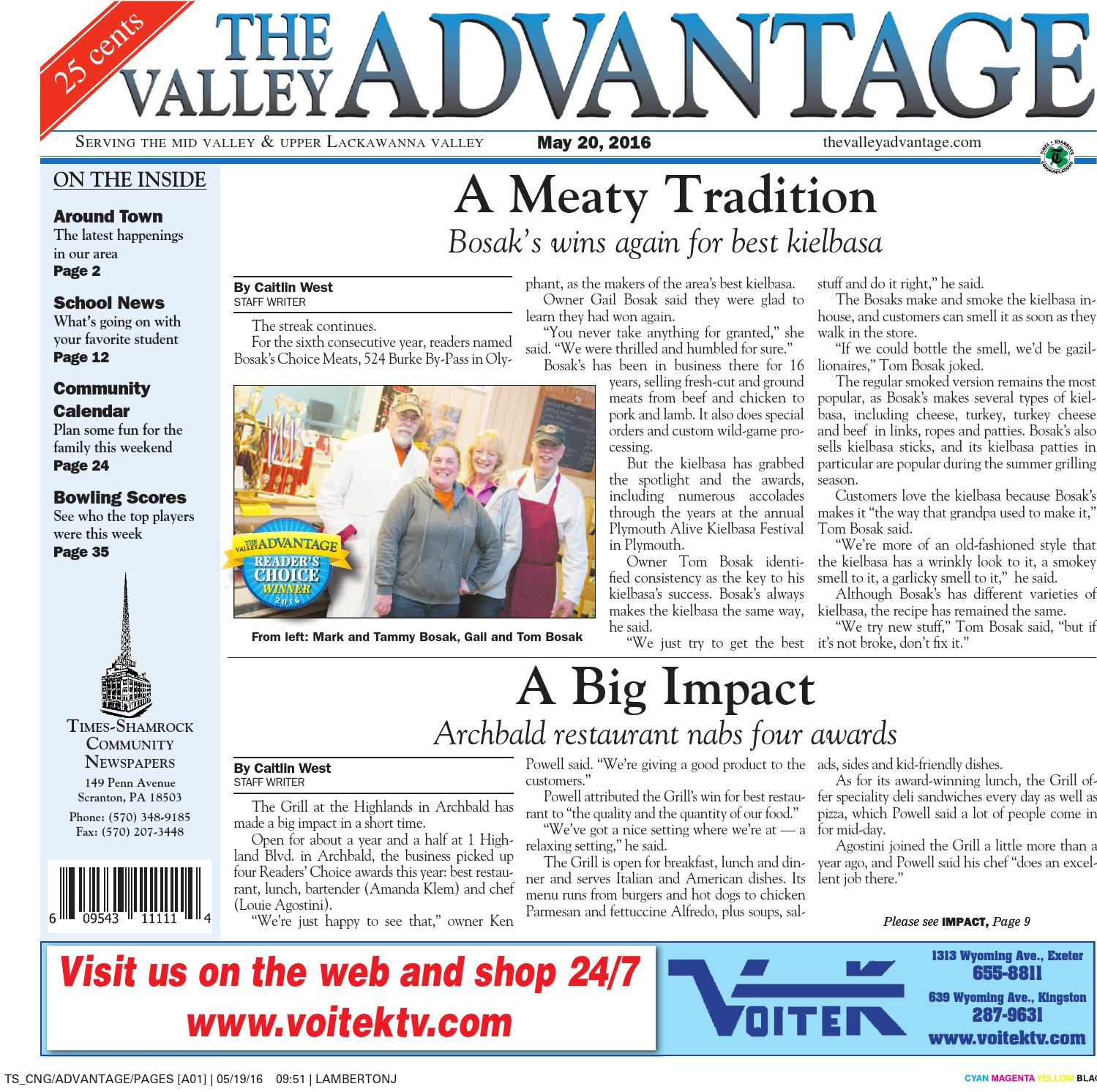 09e1bf20fc0 The Valley Advantage--05-20-16 by CNG Newspaper Group - issuu