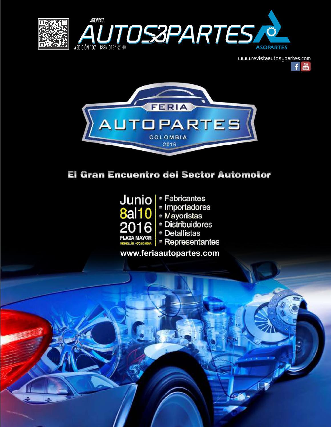 Revista Autos y Partes Edición 107 by Revista Autos y partes - issuu