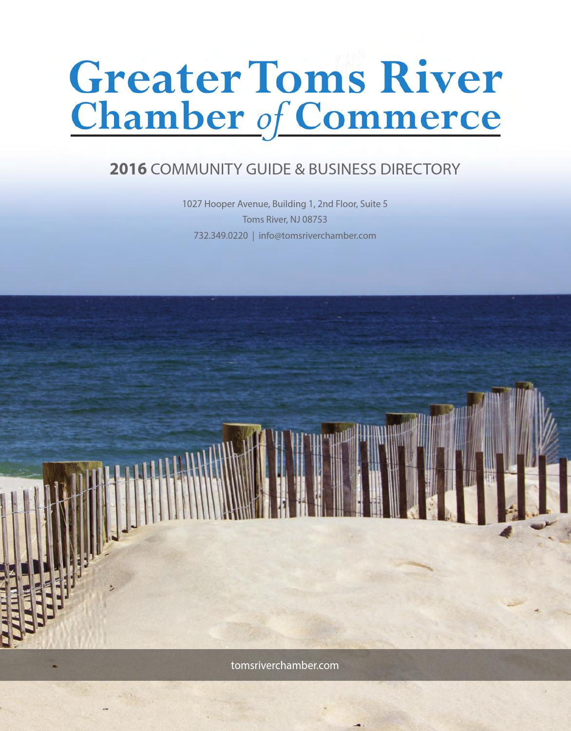 Toms River Nj Chamber Guide By Town Square Publications Llc Issuu