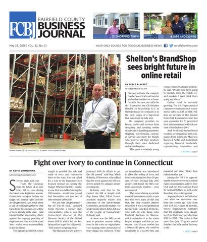 Fairfield County Business Journal 052316 by Wag Magazine - issuu