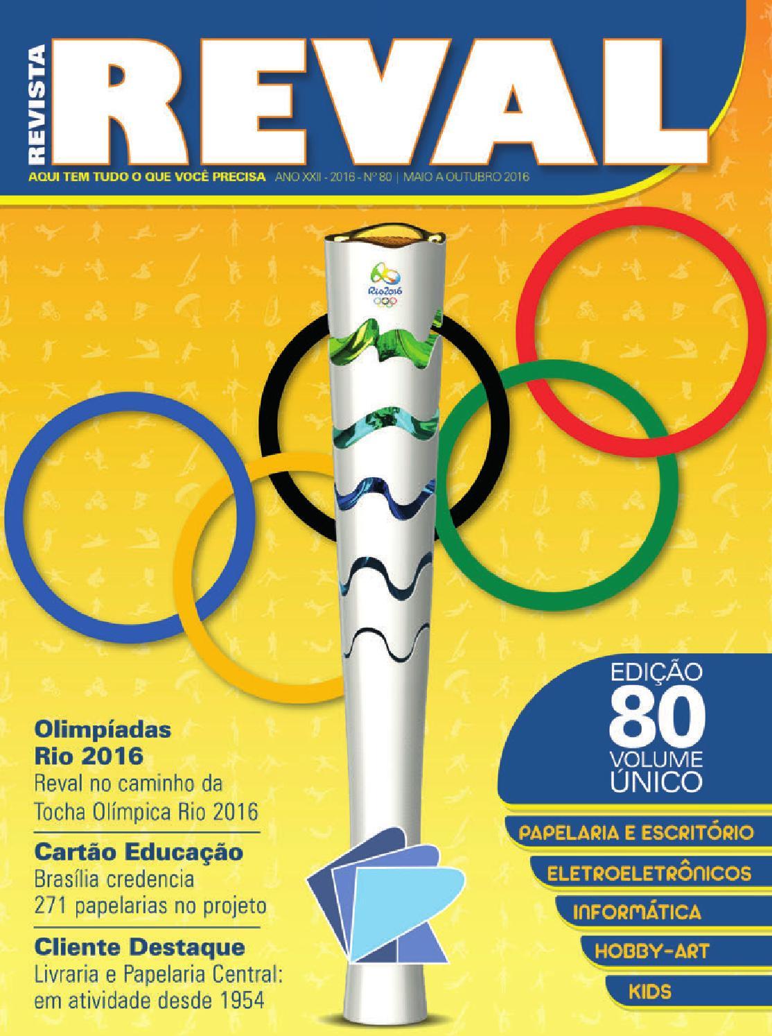 cafeea4f6f8 Revista Reval 80 - Parte 01 by Reval Atacado de Papelaria Ltda. - issuu