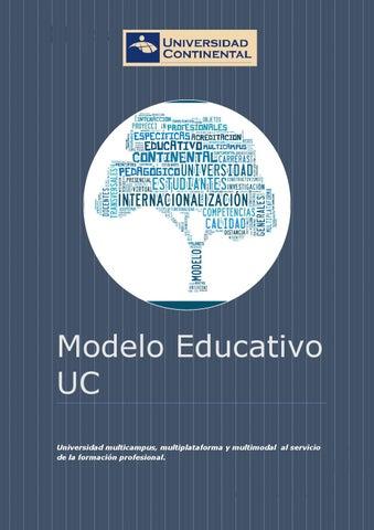 Modelo educativo uc2014 by Dirección de Gestión Docente - issuu